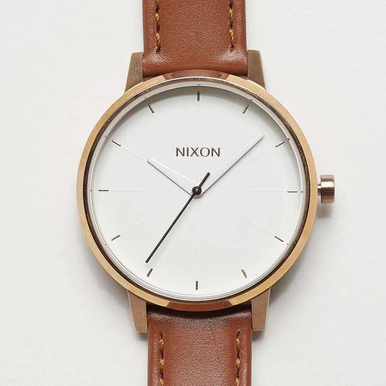 Nixon The Kensington Leather Armbanduhr für 64€ inkl. Versand (statt 111€)
