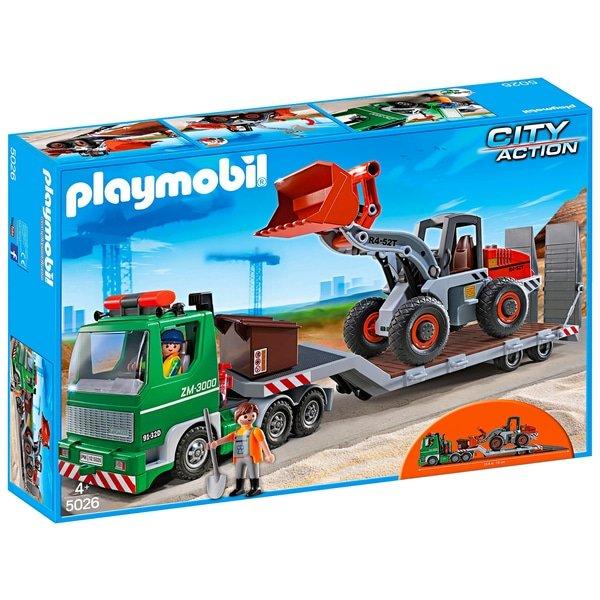 Playmobil City Action - Tieflader mit Radlader (5026) für 30€ inkl. VSK