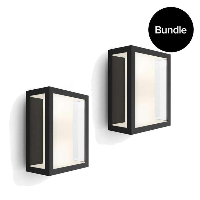 2x Philips Hue White and Color Ambiance Impress Wandleuchten für 179€ (statt 205€)