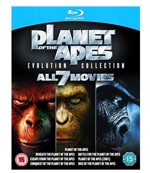 Keine Versandkosten bei Shop4de.com, z.B. Planet der Affen 7x Blu-Rays 9,99€