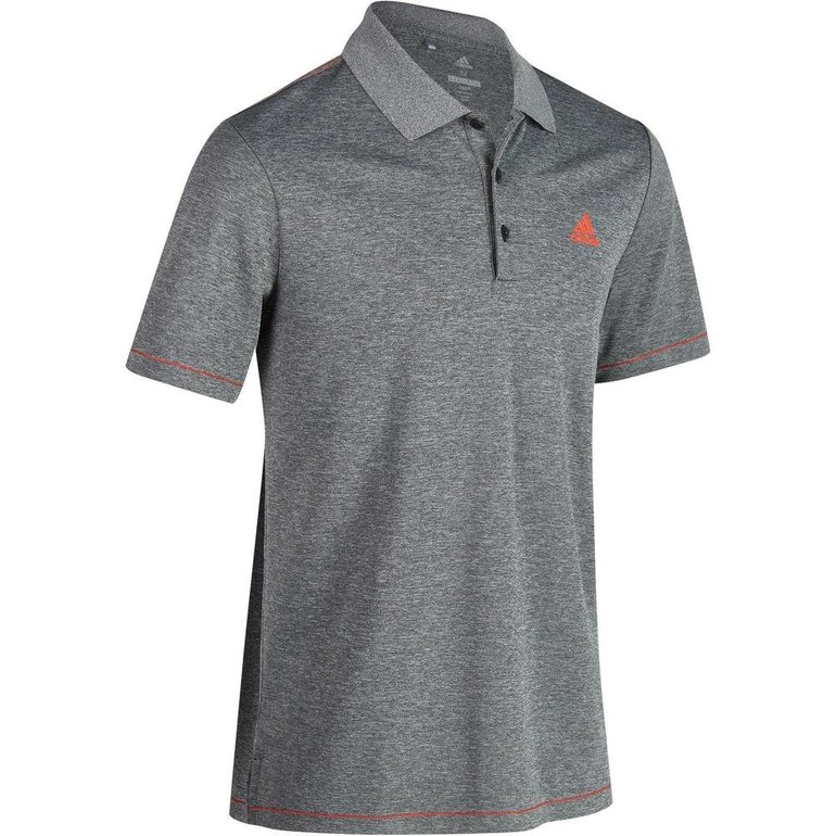 Adidas Herren Golf Poloshirt Climacool Gr. S & M in Grau meliert oder Blau ab je 9,99€
