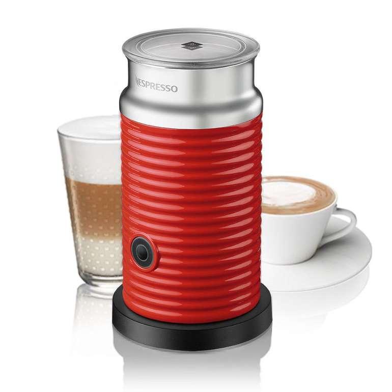 Ebay: -20% Rabatt auf Nespresso Kapseln, Zubehör & mehr, z.B. Aeroccino 3 rot für 56€ (statt 104€)
