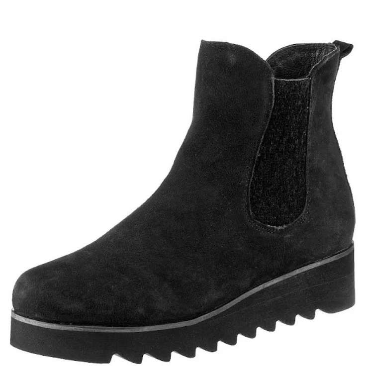Gerry Weber Chelsea Boots 'Udele 10' in schwarz für 46,74€ inkl. Versand (statt 70€)