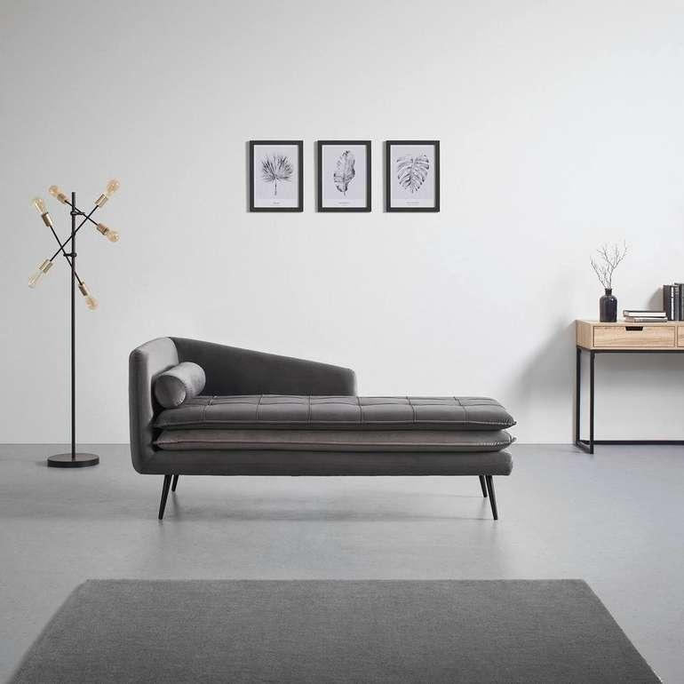 "Bessagi Daybed ""Emilia"" inkl. Kissen in grau/dunkelgrau für 279,30€ inkl. Versand (statt 399€)"