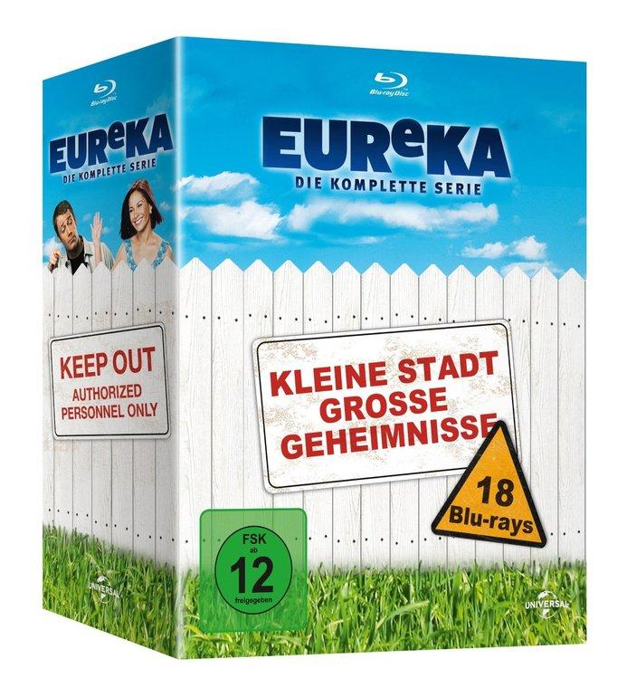 EUReKA: Kleine Stadt grosse Geheimnisse - komplette Serie [Blu-ray] für 24,98€