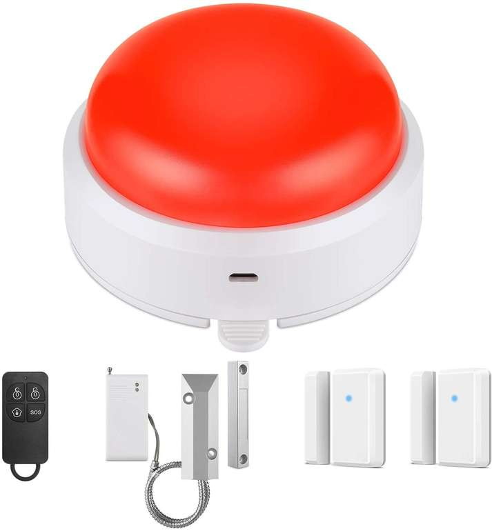 Bitiwend Sirenenalarm System für 9,50€ inkl. Prime Versand (statt 17€)