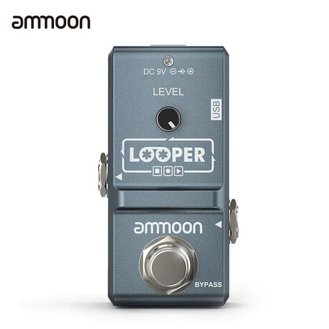 Ammoon E-Gitarre Effektpedale ab 34,51€ inkl. Versand (statt 42€)