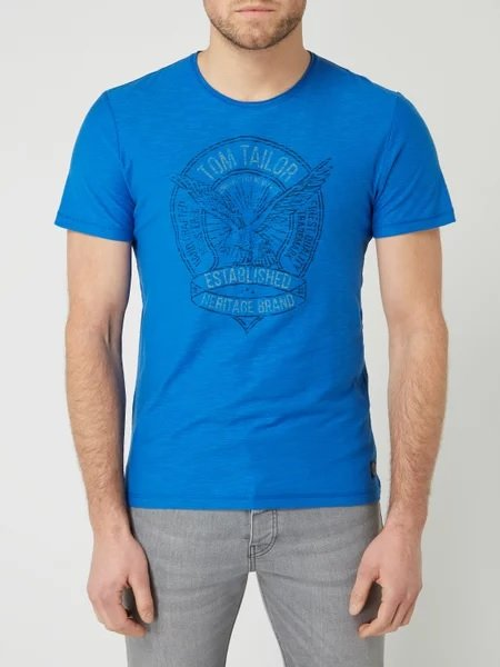 Tom Tailor T-Shirt aus Slub Jersey für 6,99€ inkl. Versand (statt 12€)