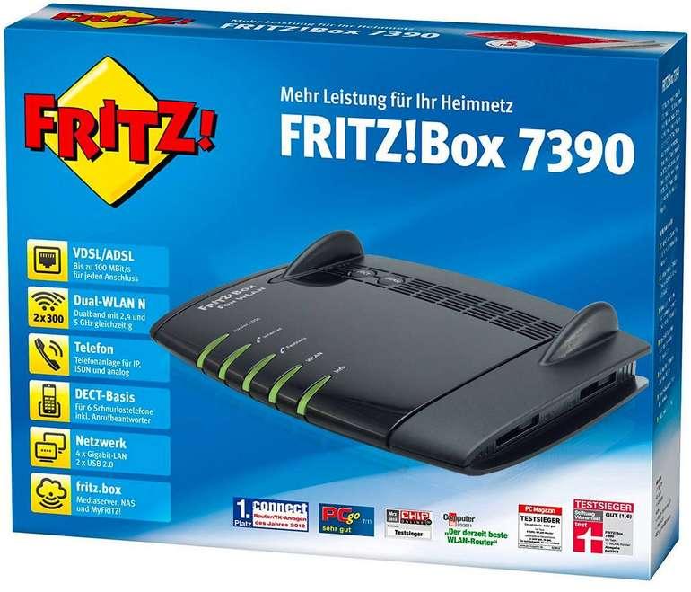 AVM FRITZ Box 7390 (generalüberholt) für 24,90€ inkl. Versand (statt 37€)