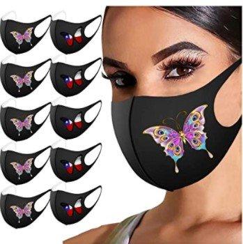 Leedy 10er Pack Mund-Nasen-Masken für 5€ inkl. Versand (statt 20€)