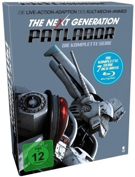 The Next Generation Patlabor Die Serie (Blu-ray) für 9,98€ inkl. Versand (statt 29€)