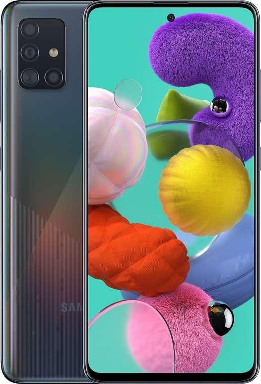 Samsung Galaxy A51 (0,97€) + Vodafone green LTE 3GB für 17,99€ mtl.
