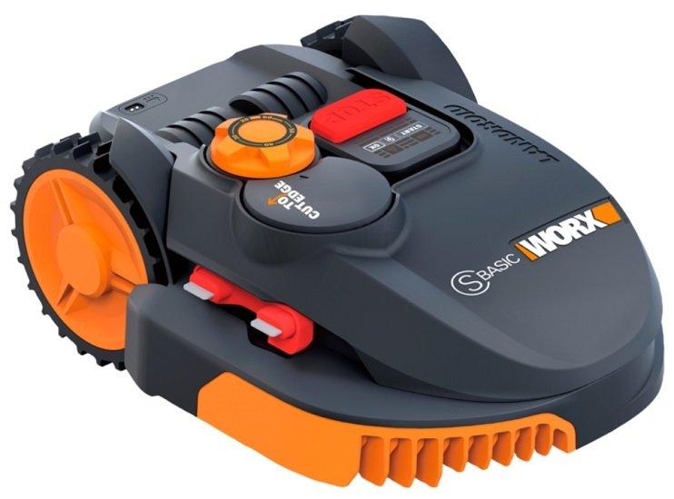Worx WR094S Landroid S Basic Mähroboter für bis zu 350 m² für 349€ (statt 444€)