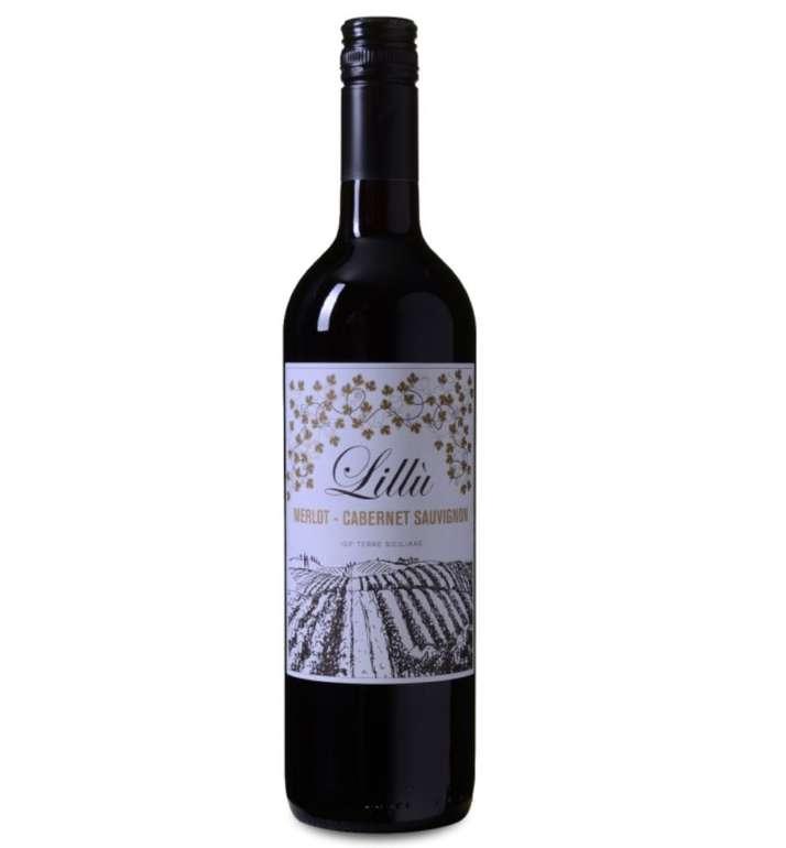 6 Flaschen Lillù - Merlot-Cabernet Sauvignon - Terre Siciliane IGT (2018) für 19,98€
