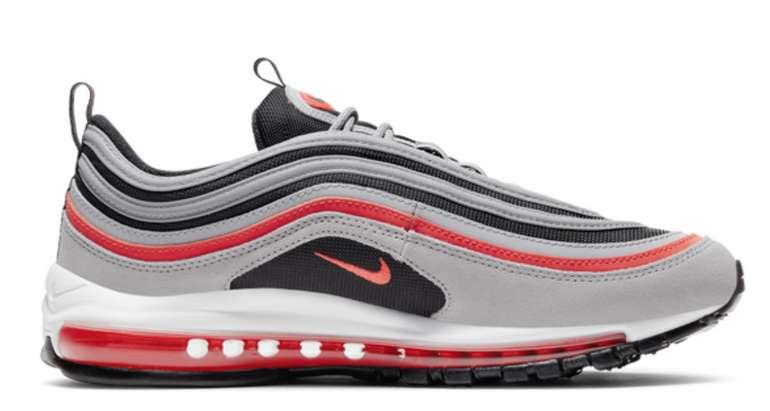Nike Air Max 97 SE Herren Sneaker in Grau/Rot für 99,99€ inkl. Versand (statt 135€)