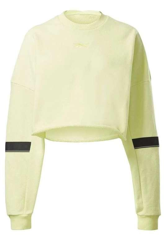 Reebok Damen Sportsweatshirt in Zitrone für 13,52€ inkl. Versand (statt 28€)