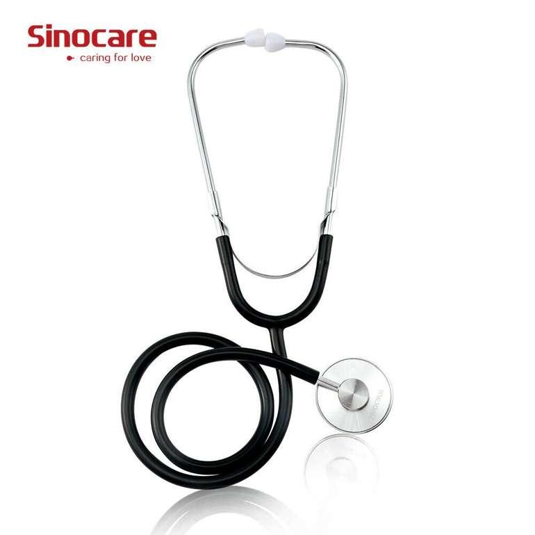 Sinocare Einzel- oder Doppelkopf Stethoskop ab 5,49€ inkl. Versand (statt 11€)
