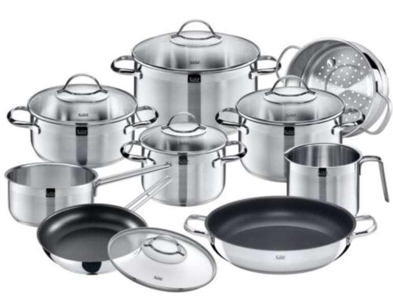 eBay: 20% Rabatt auf Kochgenuss mit WMF & Silit - z.B. Silit Achat Topfset 10-teilig für 159,95€ (statt 179€)
