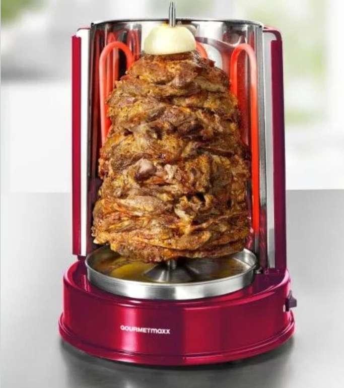 GourmetMaxx Dönergrill (1400 Watt, für Spieße bis 4kg) für 14,99€ inkl. Versand (statt 30€)