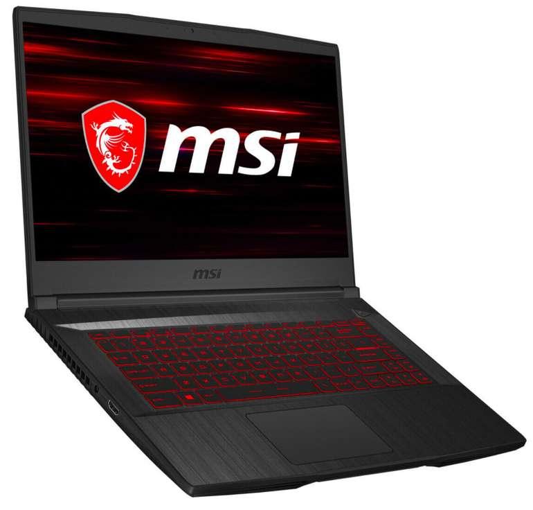 """MSI GF65 9SEXR-497 - 15,6""""  Notebook (IPS, Intel i7, 8GB RAM, 512GB SSD) für 954,99€ inkl. Versand (statt 1.048€)"""