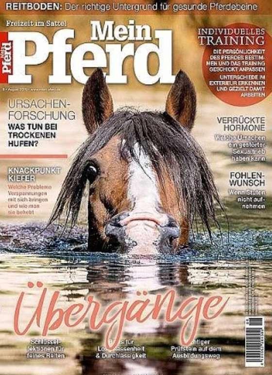 """Jahresabo """"Mein Pferd"""" für 63,40€ + z.B. 45€ Douglas-Gutschein oder 40€ Premium Bestchoice Gutschein"""