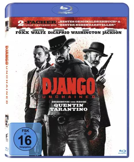 Saturn: 30% auf viele Ultra HD Blu-Ray-Discs - z.B Django Unchained für 4,99€ (statt 8€)