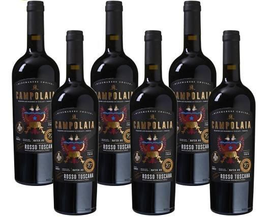 Gutscheinfehler? 12er Paket Campolaia - Rosso Toscana IGT Rotwein (2017) für 9€