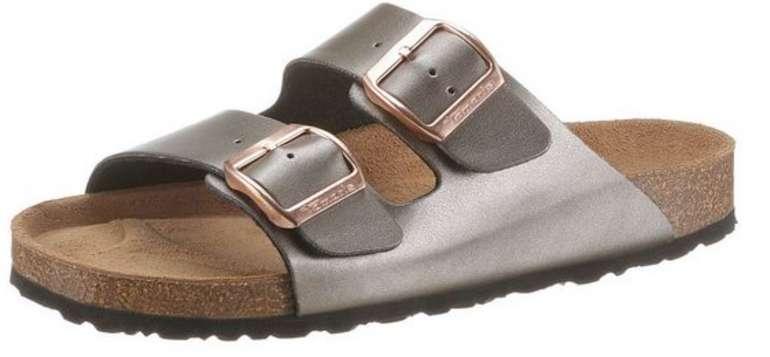 "Tamaris Pantolette ""Corra"" im Metallic-Look für 25,44€inkl. Versand (statt 31€)"