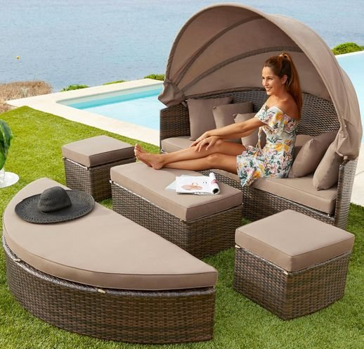 "Merxx Loungesofa ""Multifunktionsbett Riva"" für 454,99€ inkl. Versand (statt 650€)"