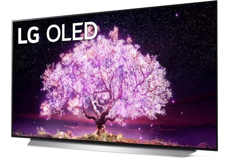 LG OLED55C18LA OLED-TV mit 139 cm (4K, Sprachsteuerung, Smart TV) für 1248,99€ inkl. Versand (statt 1695€)