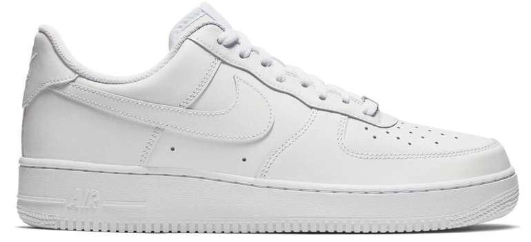 Nike Air Force 1 07 Herren Sneaker in Weiß für 74,90€ inkl. Versand (statt 87€) - Newsletter Gutschein!