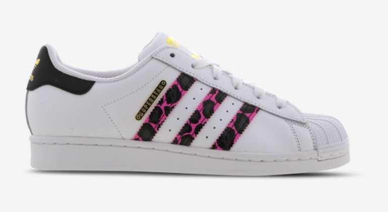 Adidas Originals Superstar Sneaker in Weiß/Pink/Schwarz für 49,99€ inkl. Versand (statt 60€)