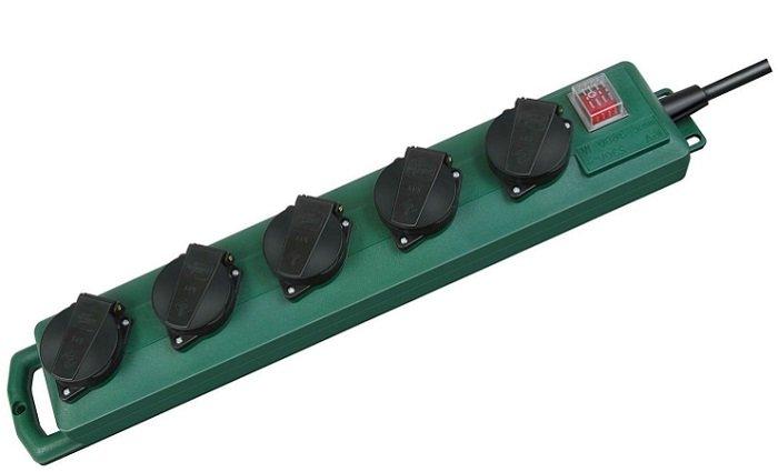 Brennenstuhl Super-Solid SL 544 D Steckdosenverteiler im Doppelpack für 14,99€