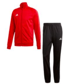 2-tlg. Adidas Core 18 Trainingsanzug (versch. Farben) für 27,95€ inkl. Versand