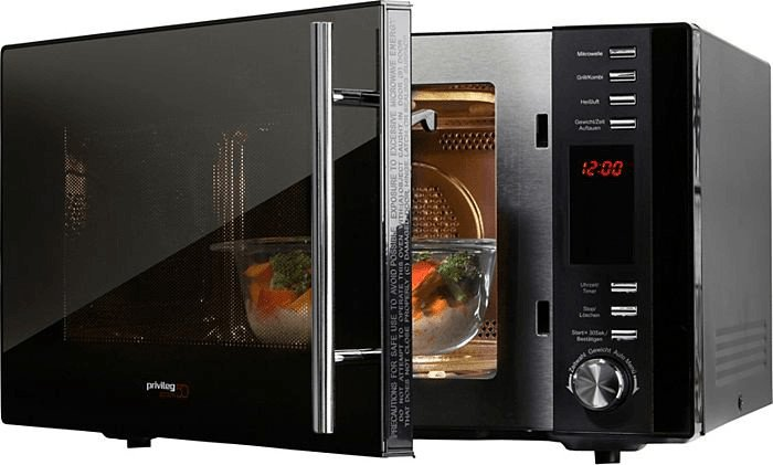 Privileg AC925EBL Edition 50 Mikrowelle (25 Liter) mit Grill und Heißluft für 83,65€ (statt 136€) - B-Ware!