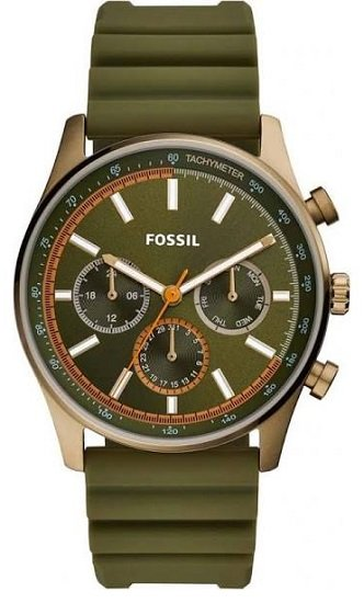 Fossil Sullivan Herrenuhr mit Silikon-Armband für 47€ (statt 102€)