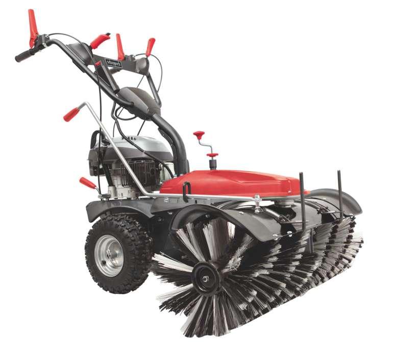 Scheppach SC2200PE Kehrmaschine mit Sammelbehälter & Schneeschild für 1.099€inkl. Versand (statt 1.299€)