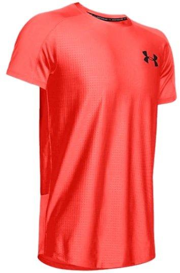 Under Armour Trainingsshirt MK1 SS Emboss rot/schwarz für 21,93€ inkl. Versand (statt 37€)