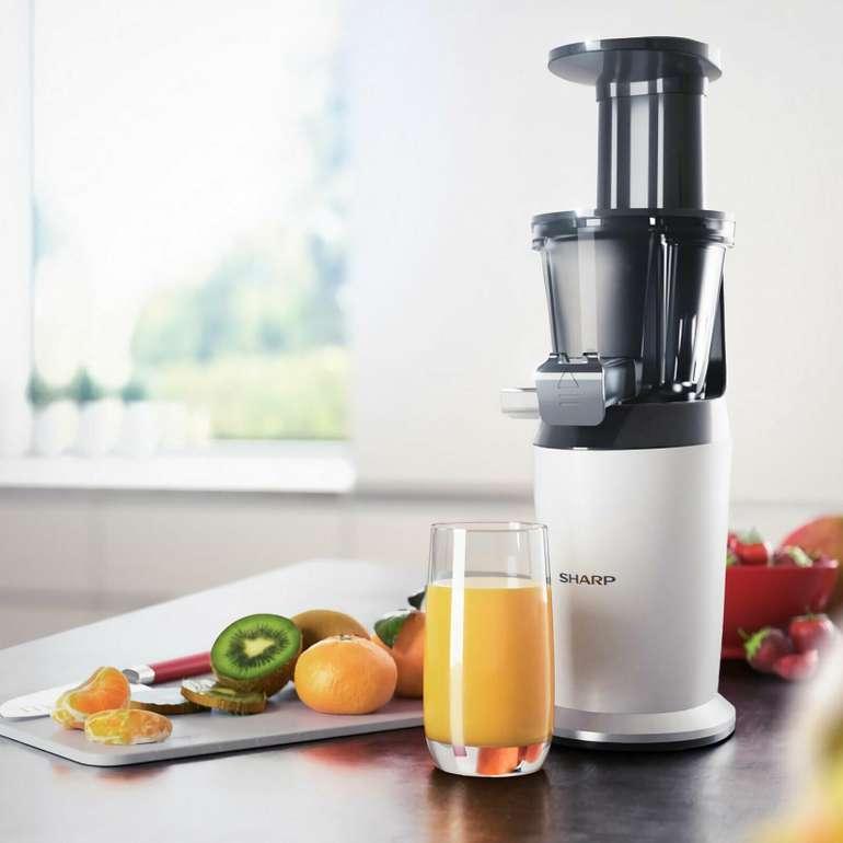 Sharp SA-FJ3001W Entsafter bzw. Slow Juicer (400 ml, 150 Watt) für 69,90€ inkl. Versand (statt 103€)