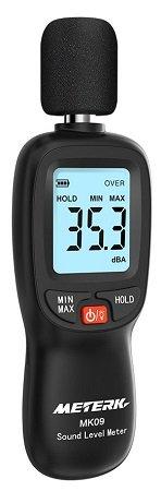 Meterk  Schallpegelmesser (30dB - 130dB) für 12,59€ inkl. VSK - Prime!