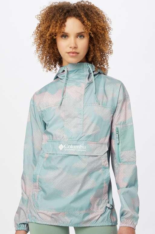 """Columbia Damen Jacke """"Challenger"""" in  aqua / lavendel / weiß für 24,95€ inkl. Versand (statt 60€)"""
