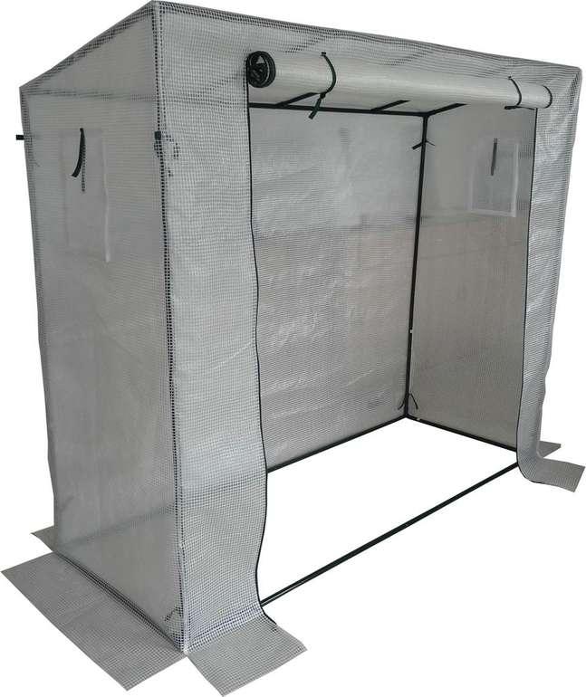 TrendLine Folien-Tomatenhaus für (198 x 75 x 155cm) für 22€ (statt 34€)