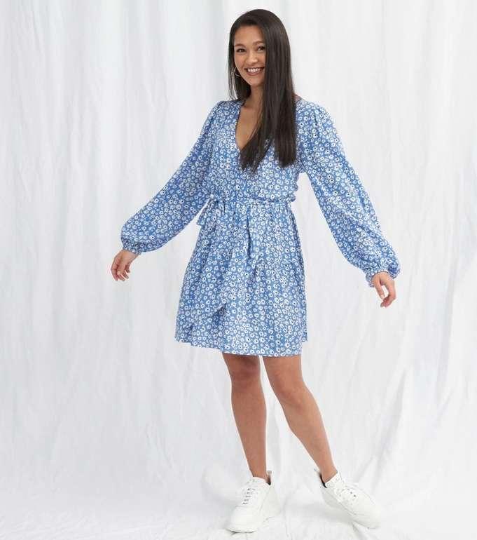 Onygo Damen Kleid Volants Flowers für 36,98€ inkl. Versand (statt 44€)