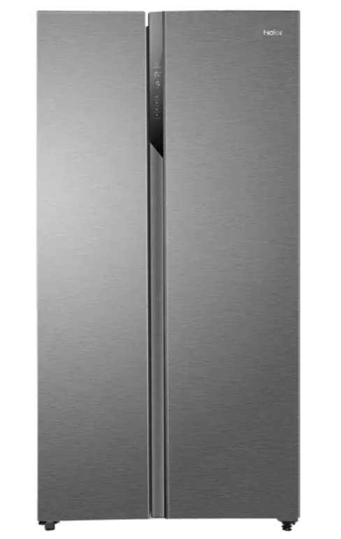 Prime Days: Haier HSR3918FNPG Side-by-Side Kühl-Gefrierkombination (528 Liter Nutzinhalt, Touch Display) für 479,90€