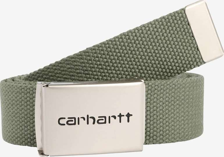 "Carhartt WIP Gürtel ""Clip Belt Chrome"" für 19,47€ inkl. Versand (statt 30€)"