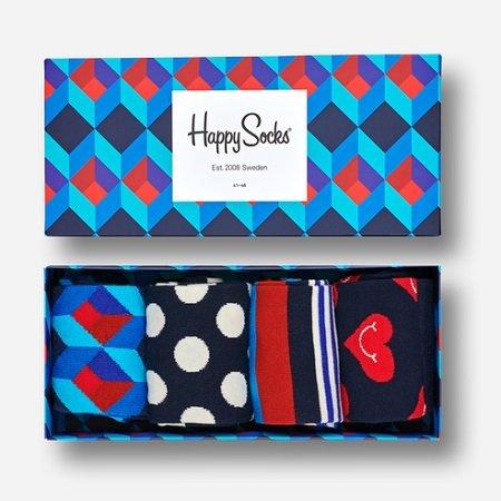 Happy Socks Sale mit -40% Rabatt + VSKfrei, z.B. 4er Pack Socken für 20,97€