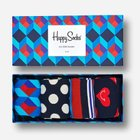 Happy Socks Sale mit -40% Rabatt + VSKfrei, z.B. 4er Pack Socken für 20,97€
