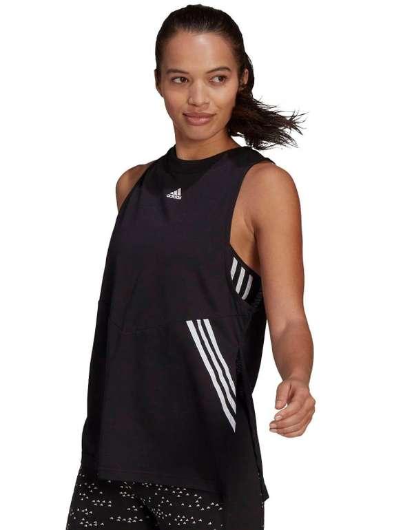 Adidas Performance Sporttop in Schwarz / Weiß für 9,96€ inkl. Versand (statt 32€)