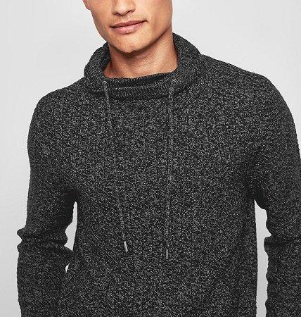 s.Oliver Melierter Turtleneck-Pullover für nur 15,99€ (statt 40€)