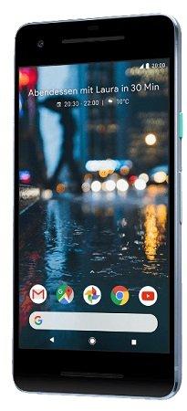 Google Pixel 2 mit 64GB, 12.2 MP Kamera und 4GB RAM für 149,90€ (B-Ware!)